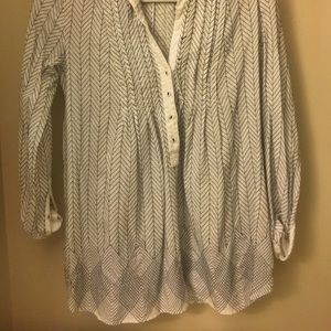 Anthropologie button down blouse